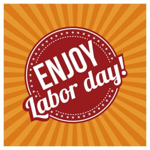 Labor Day enjoy-labor-day-vintage-label